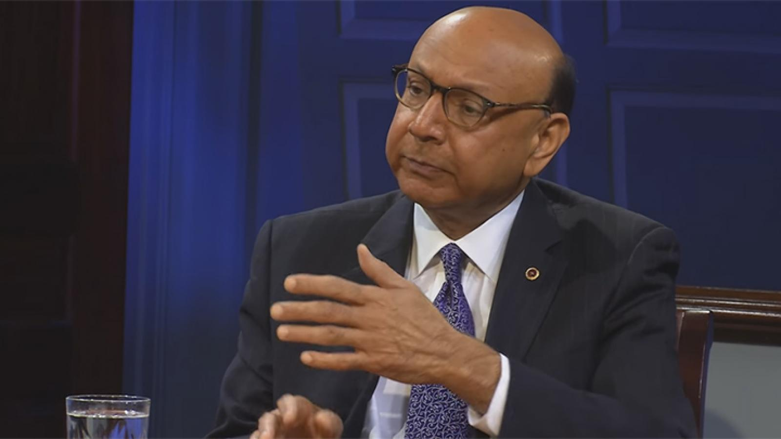 Muslim American Gold Star father Khizr Khan on why he carries a copy of the U.S. Constitution