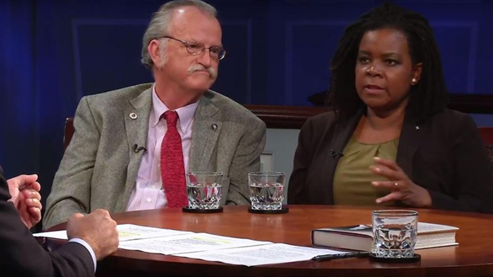 Annette Gordon-Reed and Peter Onuf discuss Thomas Jefferson's view of slavery