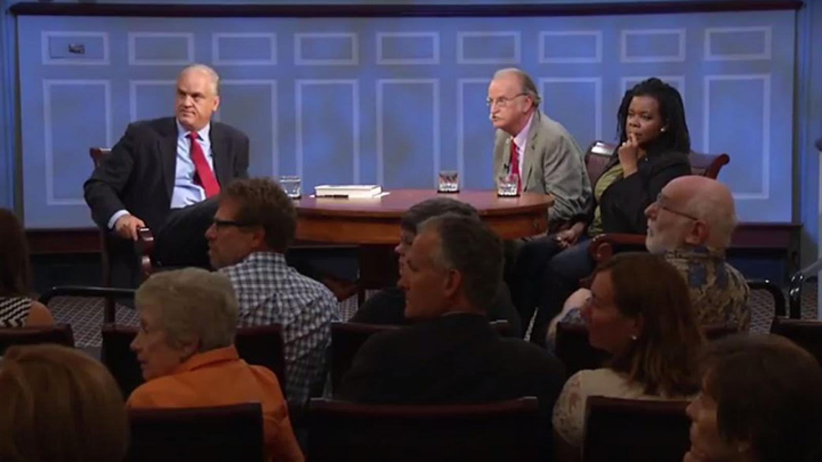 Peter Onuf and Annette Gordon-Reed take questions from the American Forum studio audience