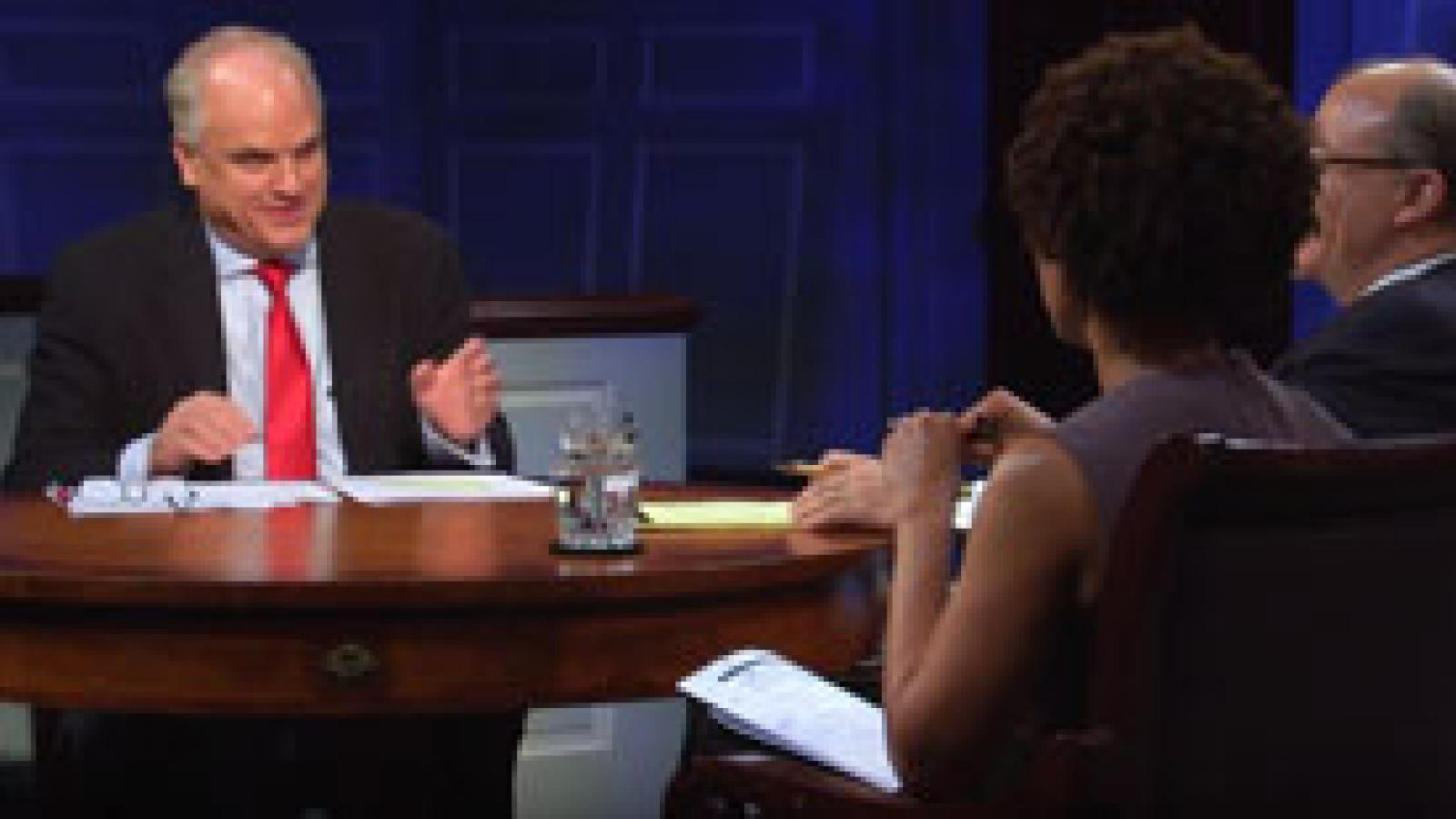 Melody Barnes and Peter Wehner take questions from the American Forum studio audience
