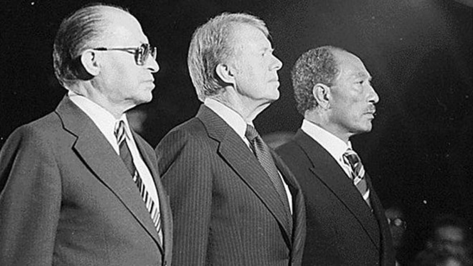 Begin, Carter, and Sadat
