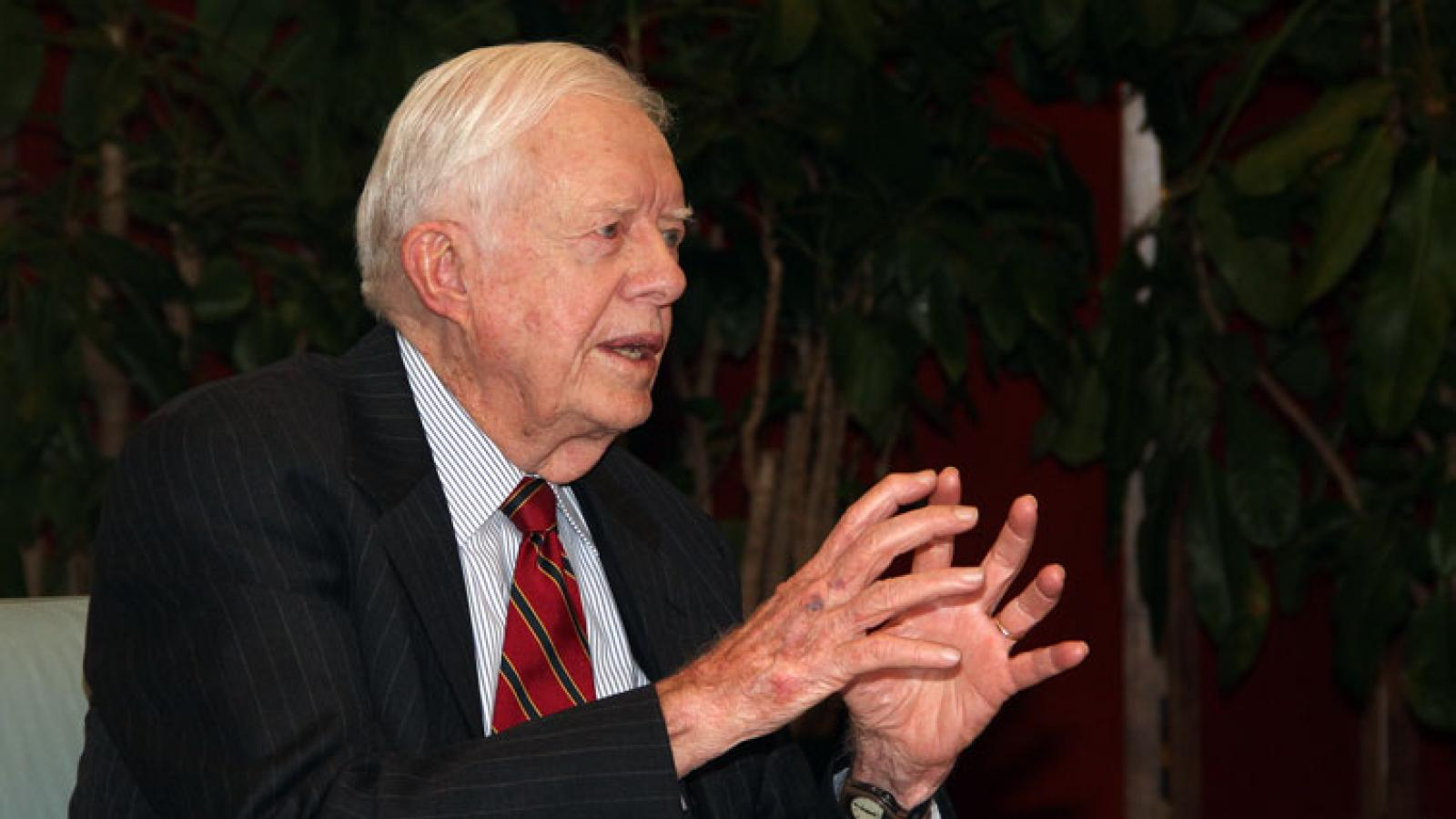 Jimmy Carter and other presidents on the Miller Center